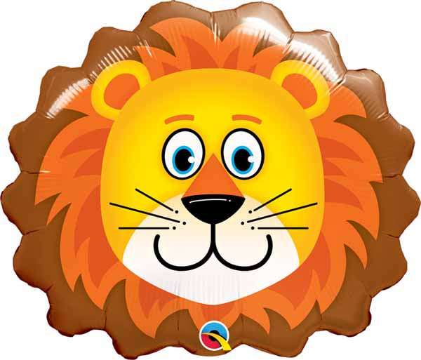 Lion Head SuperShape Balloon