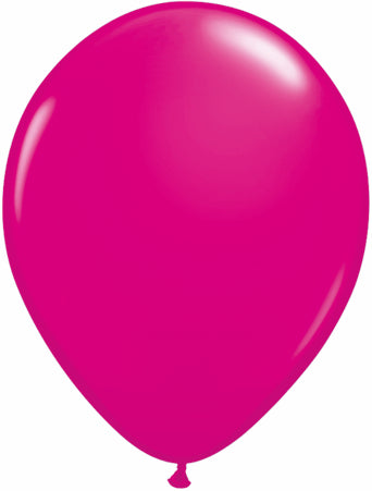 "Wild Berry Pink 11"" Latex Balloon"