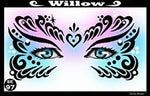 Willow Stencil Eyes - Adult