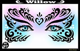 Stencil Eyes Willow  - Child Sized
