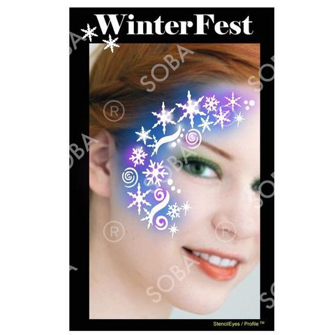 Frozen Winterfest - Profile Stencil