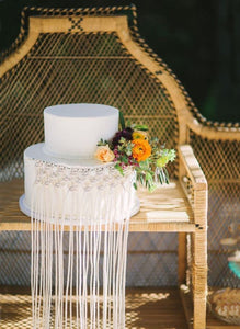 Boho Wedding  Cake Decoration
