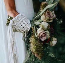 Load image into Gallery viewer, Boho Wedding Bouquet Wraps