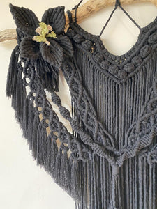 "Macrame Wallhanging ""Midnight"""