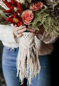 Boho Wedding Bouquet Wraps