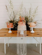 Load image into Gallery viewer, Boho Wedding  Cake Decoration