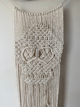 "Load image into Gallery viewer, Macrame Wallhanging ""Sugar Skull"""