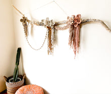 "Load image into Gallery viewer, Macrame Wall Hanging ""Awakening"""