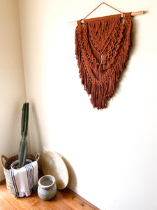 "Macrame Wall Hanging ""Chestnut"""