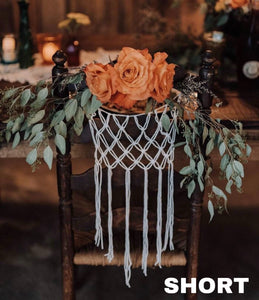 Boho Wedding Chair Decorations (pair)