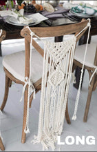 Load image into Gallery viewer, Boho Wedding Chair Decorations (pair)