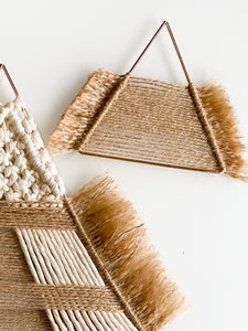 Native Boho Nursery Wallhanging