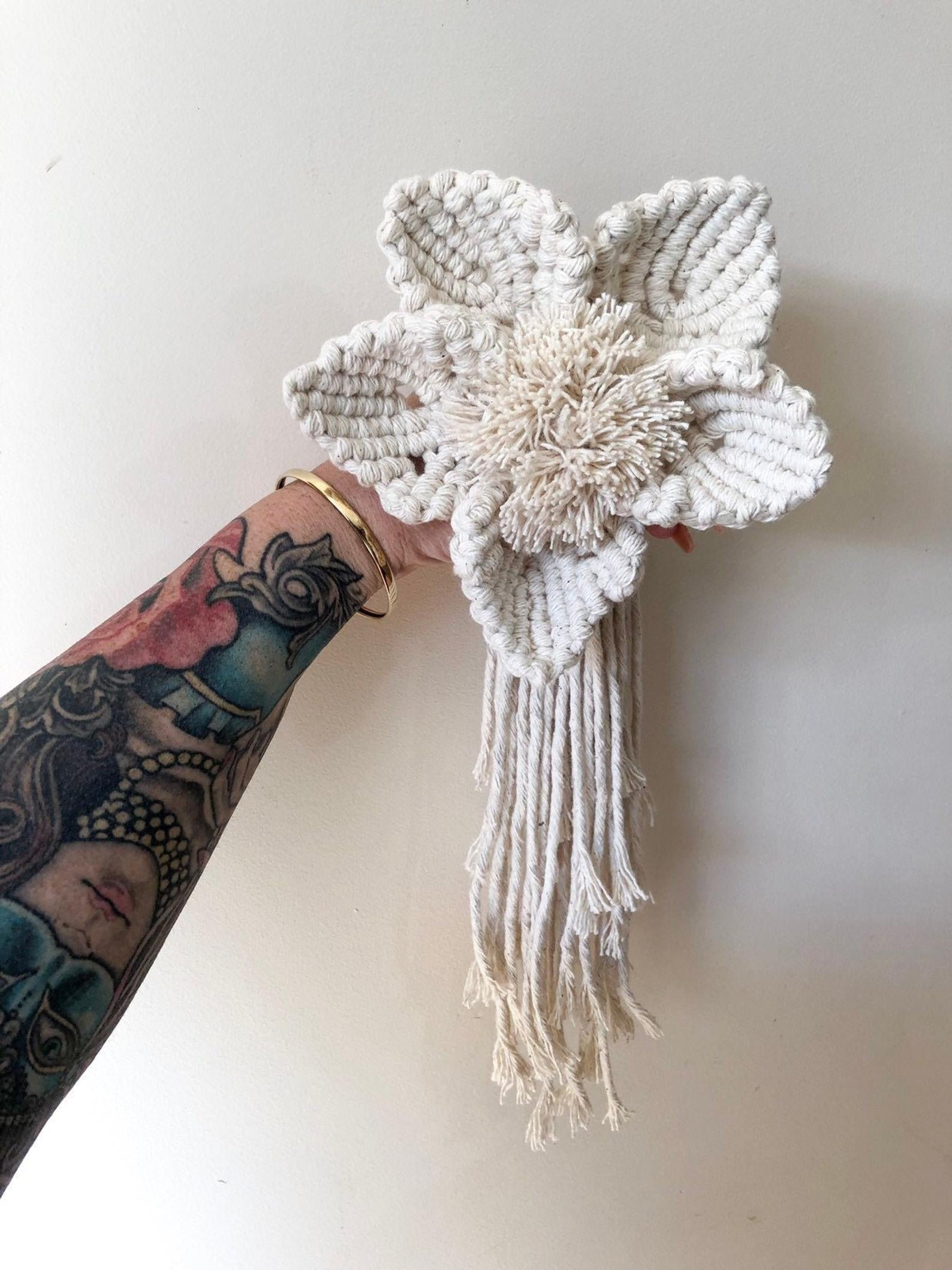 Macrame Flower | Boho Wedding