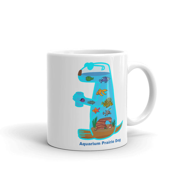 Aquarium Prairie Dog | Mug