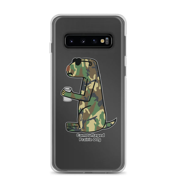 Camouflaged Prairie Dog | Samsung Case - Great Black Tiger Press