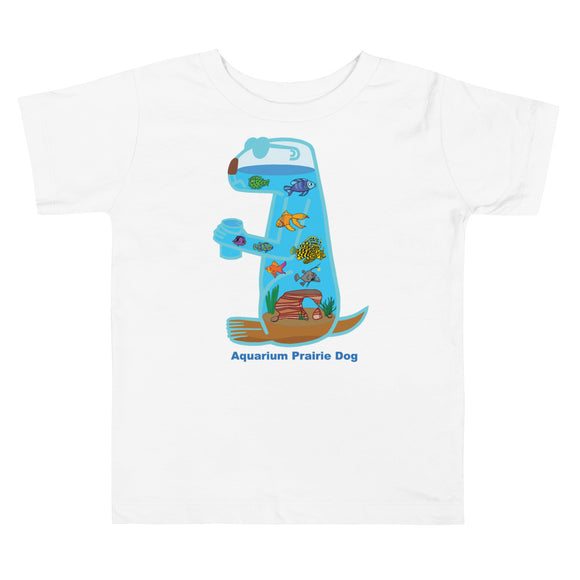 Aquarium Prairie Dog | Toddler Short Sleeve Tee