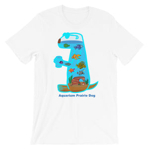 Aquarium Prairie Dog | Short-Sleeve Unisex T-Shirt
