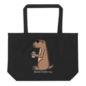 Classic Prairie Dog | Large organic tote bag