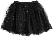 iDo Black Embellished Skirt Set