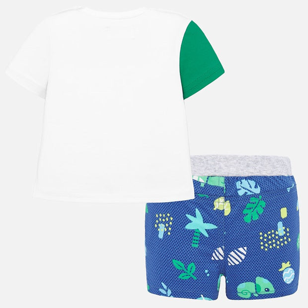 Baby Boys Mayoral Bird Shorts Set