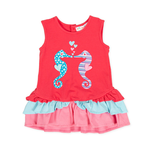 Girls Agatha Ruiz De La Prada Mar Seahorse Dress