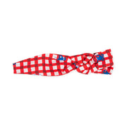 Girls Agatha Ruiz De La Prada Mariposa Red Checked Hair Band
