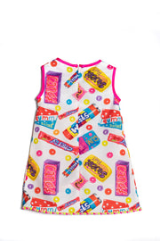 Girls Rosalita Senoritas Belcher Sweet Print Dress