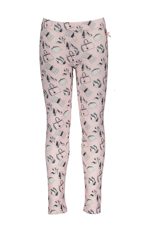 Le Chic Pink Print Legging Set
