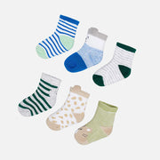 Boys Mayoral Jungle Socks 6 Pairs
