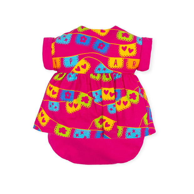 Girls Agatha Ruiz de la Prada Mini ARP Dress & Briefs