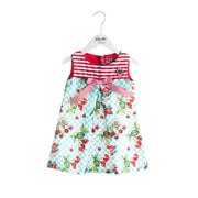 Girls Rosalita Señoritas Grape Stripe Dress