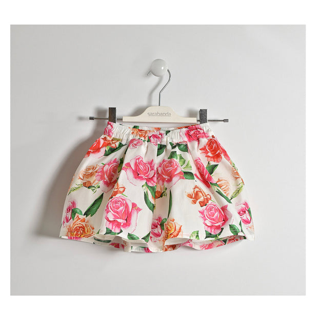 Girls Sarabanda Floral Skirt Set