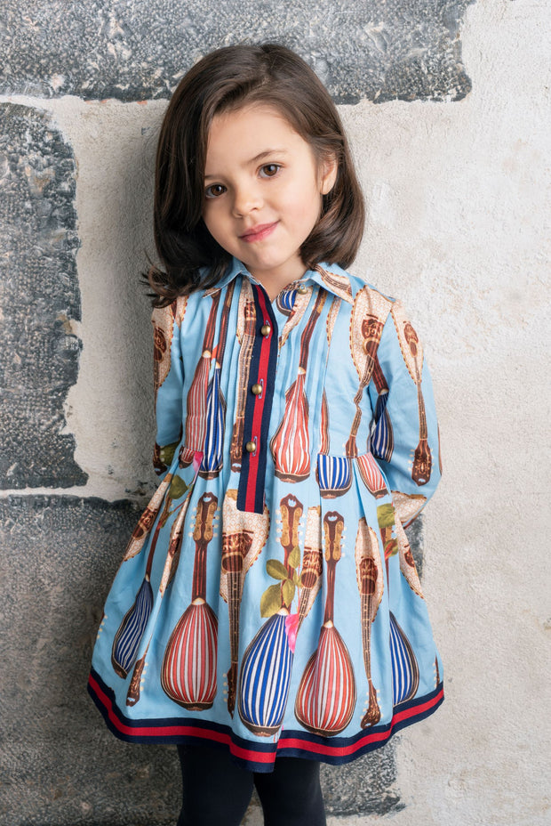 Girls Pan Con Chocolate Gretel Dress