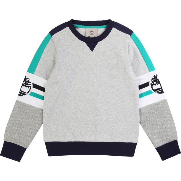 Boys Timberland Grey Sweatshirt