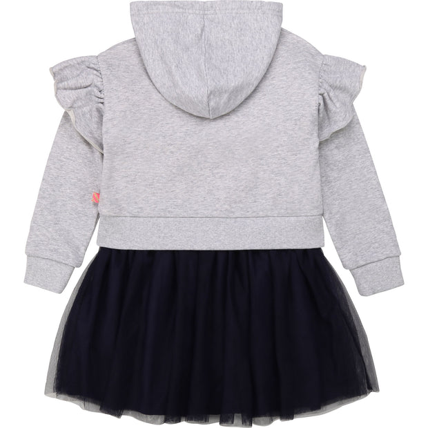 Pre-order Billieblush Grey Hooded Dress
