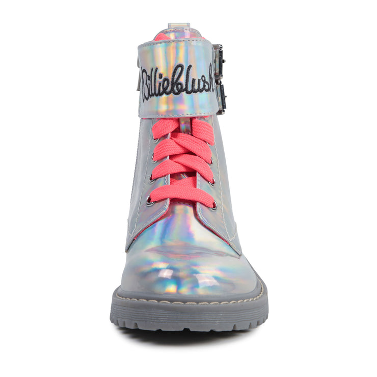 Billieblush Silver Ankle Boots
