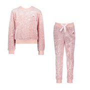Le Chic Pink Velour Tracksuit