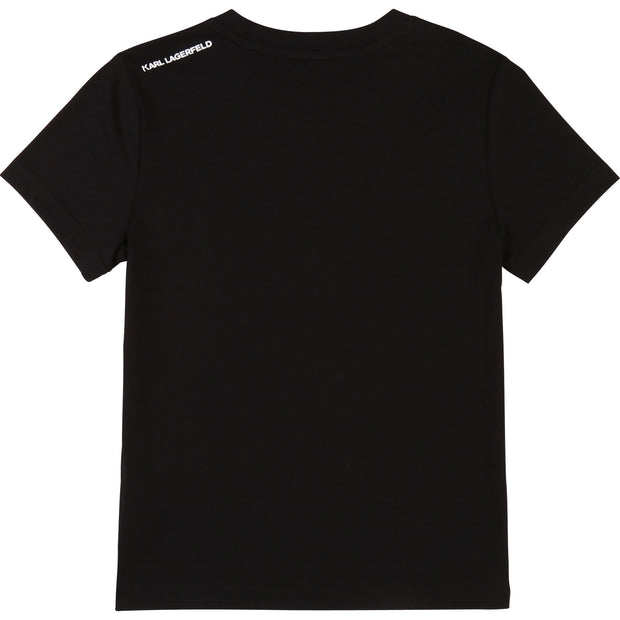PRE-ORDER Boys Karl Lagerfeld Kids Black T-shirt
