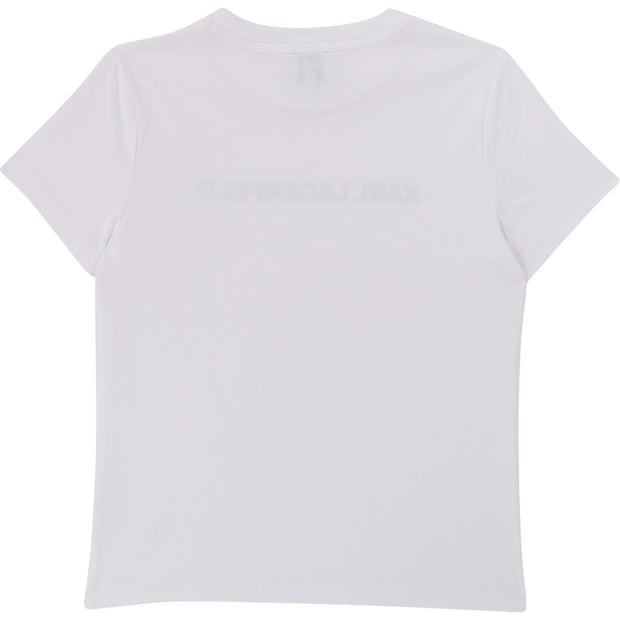 Boys Karl Lagerfeld Kids White T-shirt