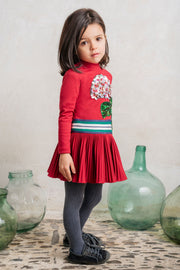 Girls Pan Con Chocolate Alaia Dress