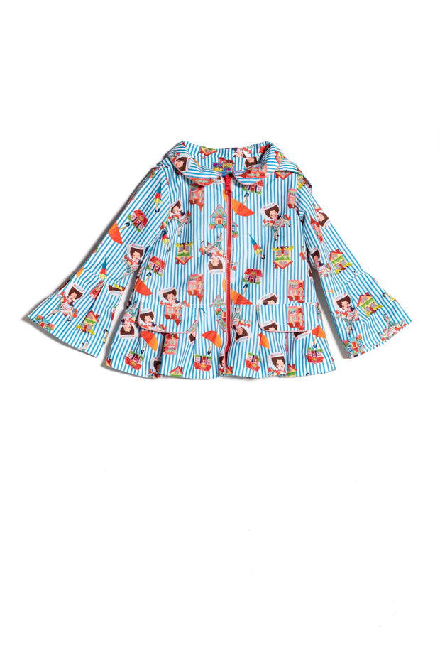 Girls Rosalita Senoritas Edmonton Raincoat