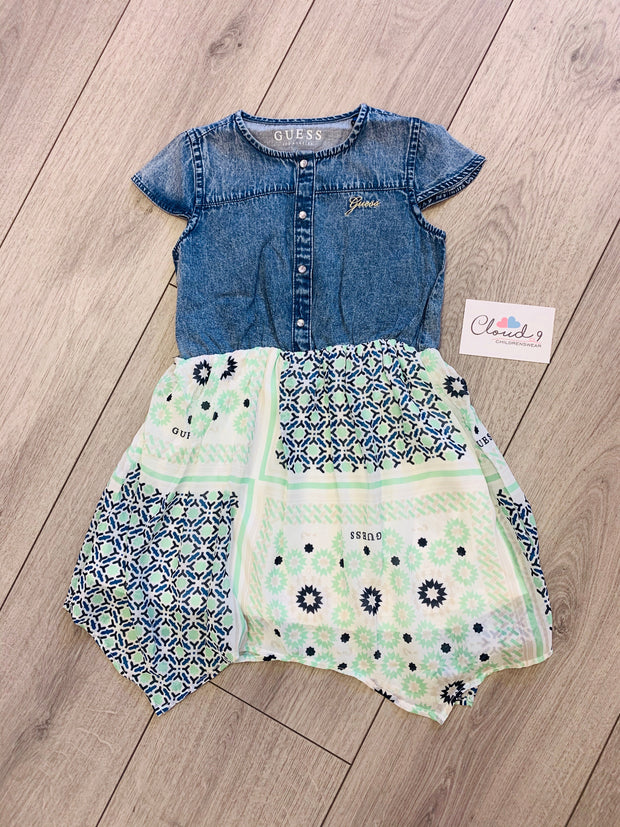 Girls Guess Denim Dress