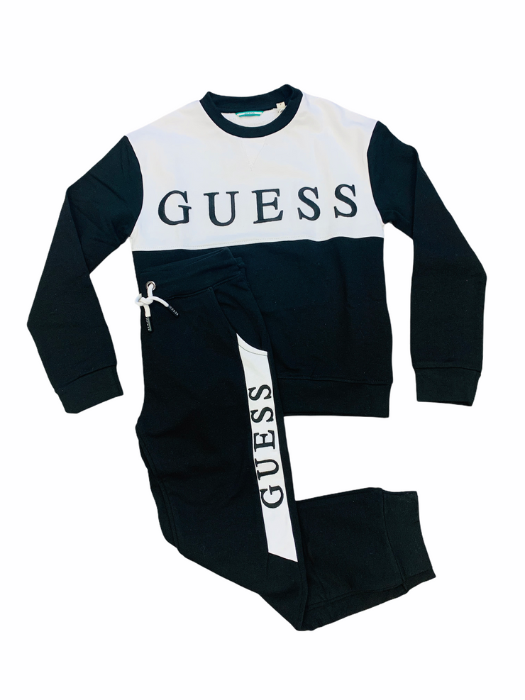 Guess Black Tracksuit