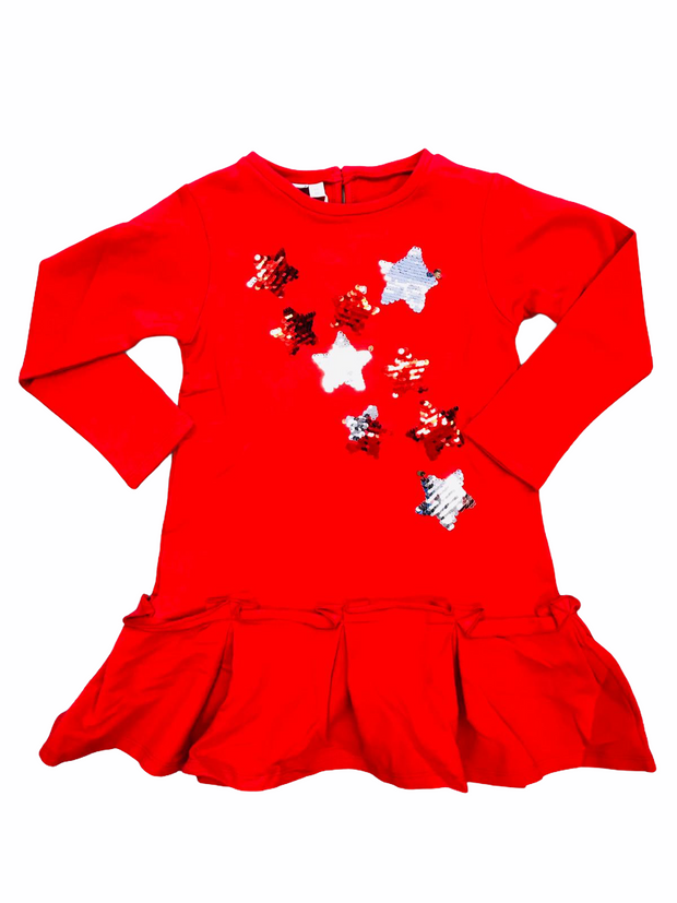 iDo Red Star Dress