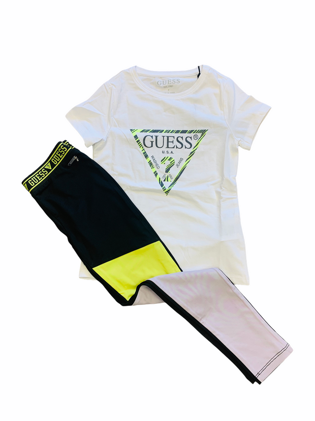 Guess Neon Legging Set