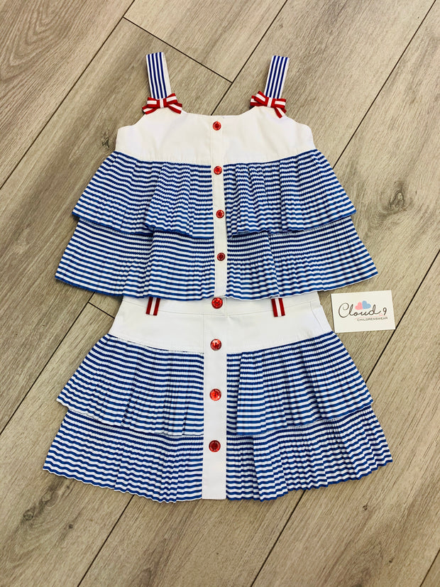 Pan Con Chocolate Baden Skirt Set
