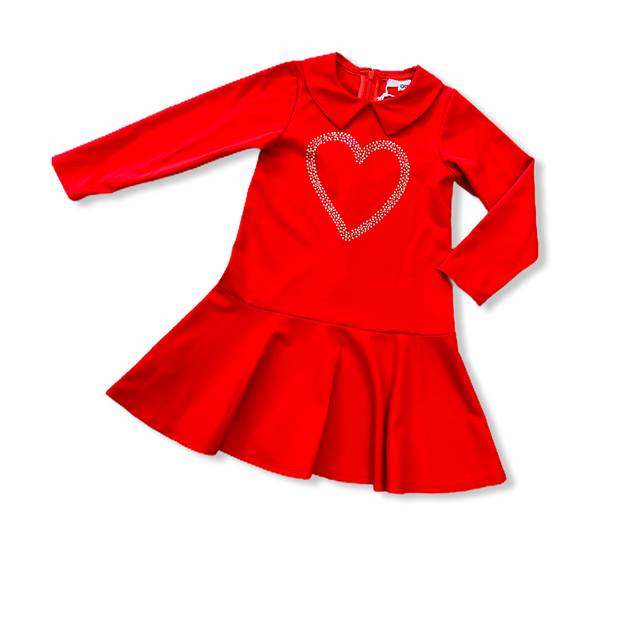 iDo Red Heart Dress