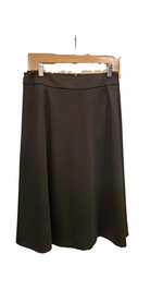 "Load image into Gallery viewer, 29"" Black A line skirt"