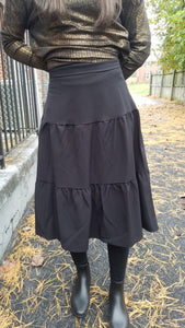Basic Tiered Skirt