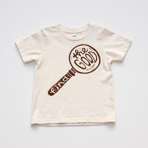 Find The Good: Limited Edition Organic Cotton Hand Pressed Tee